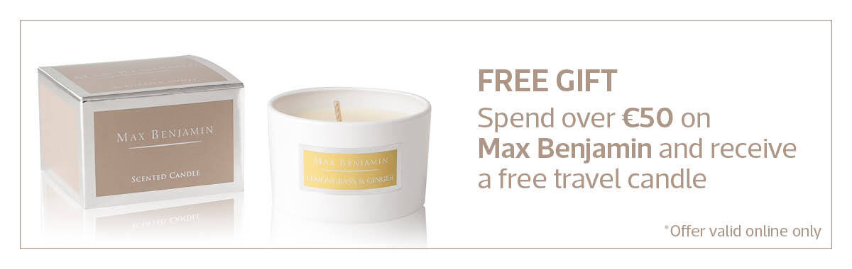 Max Benjamin Free Candle Offer