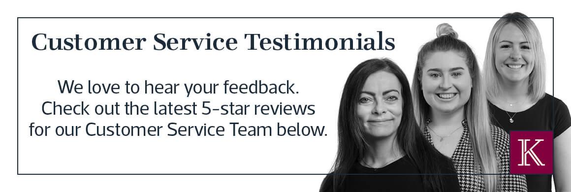 Customer Service testimonials
