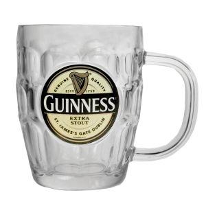 Guinness Label Tankard