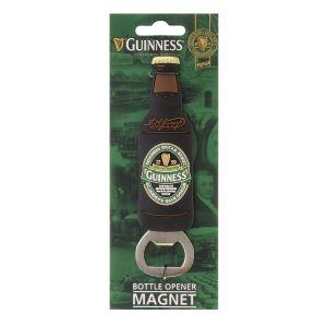 Guinness PVC Bottle Opener Magnet