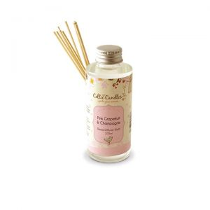 Celtic Candles Pink Grapefruit & Champagne Diffuser Refill