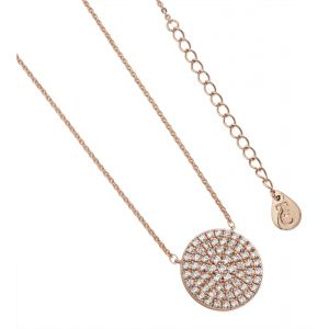 Tipperary Crystal Pave Full Moon Pendant