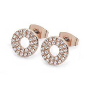 Tipperary Crystal Triple Band Earrings