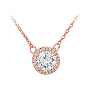 Tipperary Crystal Rose Gold Pendant