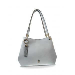 Tipperary Crystal Grey Sicily Shoulder Bag