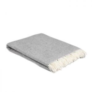 McNutts Super Soft Uniform Grey Throw