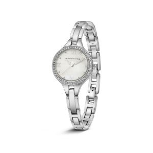 Newbridge-Ladies-Silverplated-Watch-Clear-stones