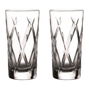 Waterford Crystal Olann Hi Ball Pair