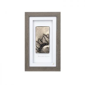 Wild Goose Always Sunrise Somewhere Bronze Frame