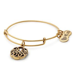 Alex and Ani Path of Life IV Gold Bangle