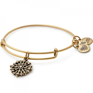 Alex and Ani Compass III Gold Bangle