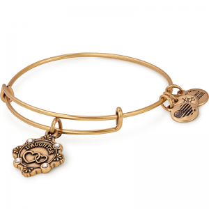 Alex and Ani Because I Love You Daughter III Gold Bangle