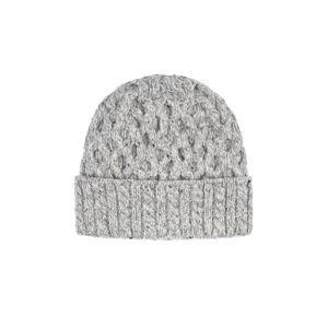 Ireland's Eye Aran Luxe Grey Hat