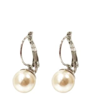 Absolute  Cream Pearl Drop Earrings