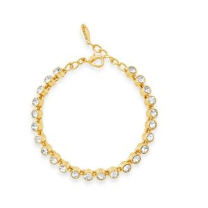 Absolute Slim Gold Tennis Bracelet