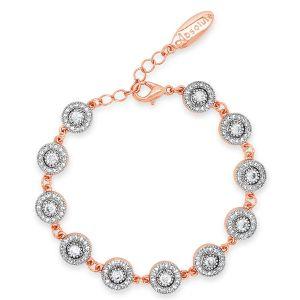 Absolute Vintage Cluster Rose Gold Bracelet