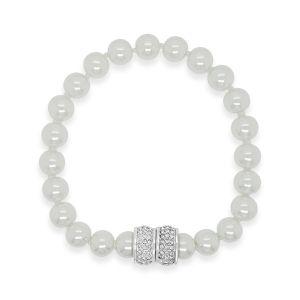 Absolute White Magnetic Bracelet