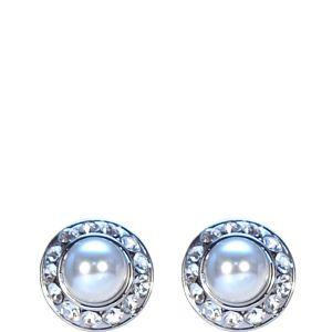 Absolute Jewellery White Pearl Earrings