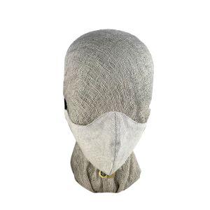 Ferguson Linen Adult Large Oatmeal Face Mask