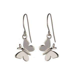 Alan Ardiff Butterfly Earrings