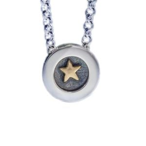 Alan Ardiff Gold Star Pendant