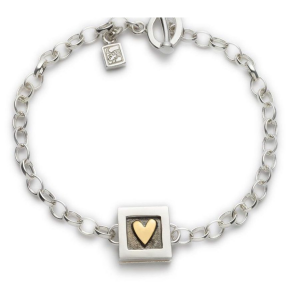Alan Ardiff Heart Of Gold Bracelet