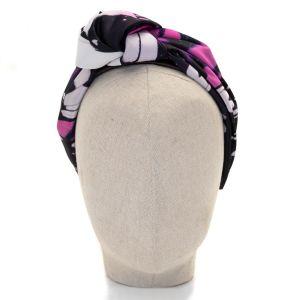 Aoife Harrison Design Black Butterfly Headband front