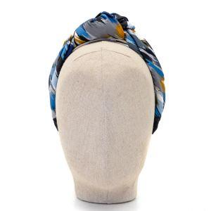 Aoife Harrison Design Blue/Navy/Grey Headband  front