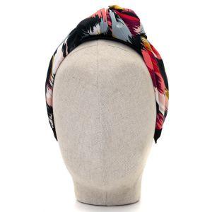 Aoife Harrison Design Coral/Red/Grey Headband