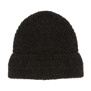 Aran Graphite Textured Hat