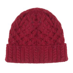Aran Luxe Bramble Berry Hat