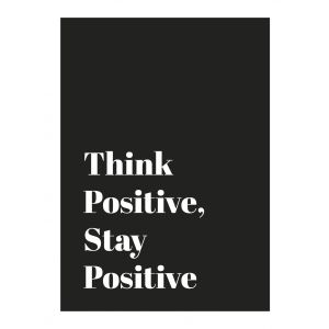 Bookspeed Think Positive Stay Positive