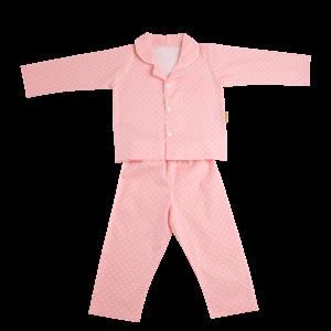 Babyboo Pink Starry Night Pyjamas