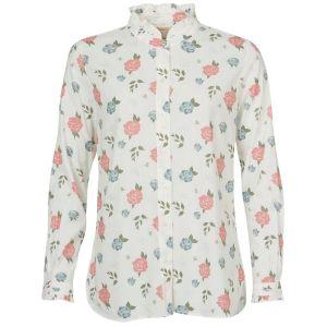 Barbour Ladies Bowland White Shirt