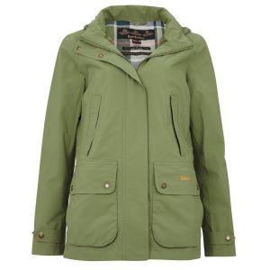 Barbour Ladies Clyde Green Jacket