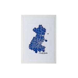 BBpapercuts County Dublin Framed