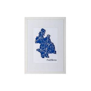 BBpapercuts County Tipperary Framed