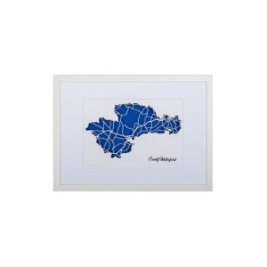 BBpapercuts County Waterford Framed