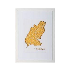 BBpapercuts County Wexford Framed