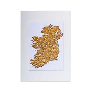 BBpapercuts Ireland Gold Mount
