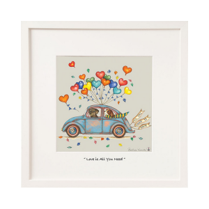 Belinda Northcote All You Need Is Love Large Frame