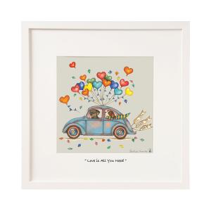 Belinda Northcote All You Need Is Love Mini Frame