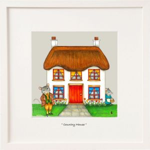 Belind Northcote Country mouse Large Framed print