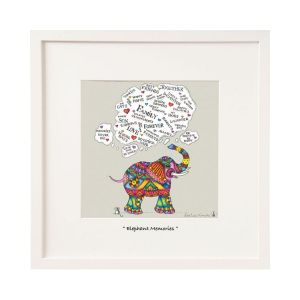 Belinda Northcote Elephant Memories Mini Framed