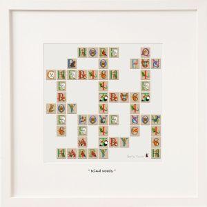 Belinda Northcote Kind Words Large Frame