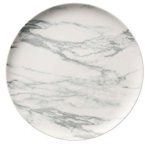 Belleek Marbled Dinner Plate