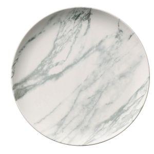 Belleek Marbled Salad Plate