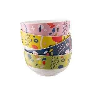 Belleek Verdant Set of 4 Cereal Bowls