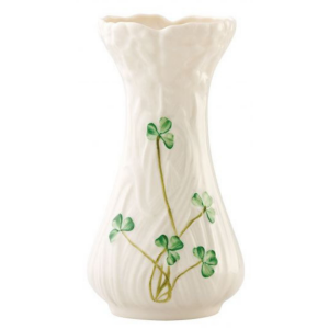Belleek Pottery Daisy Toy Spill Vase