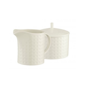 Belleek Grafton Sugar & Cream Set